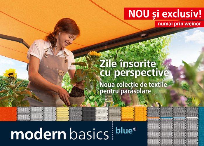 Noua colectie de textile pentru parasolare weinor