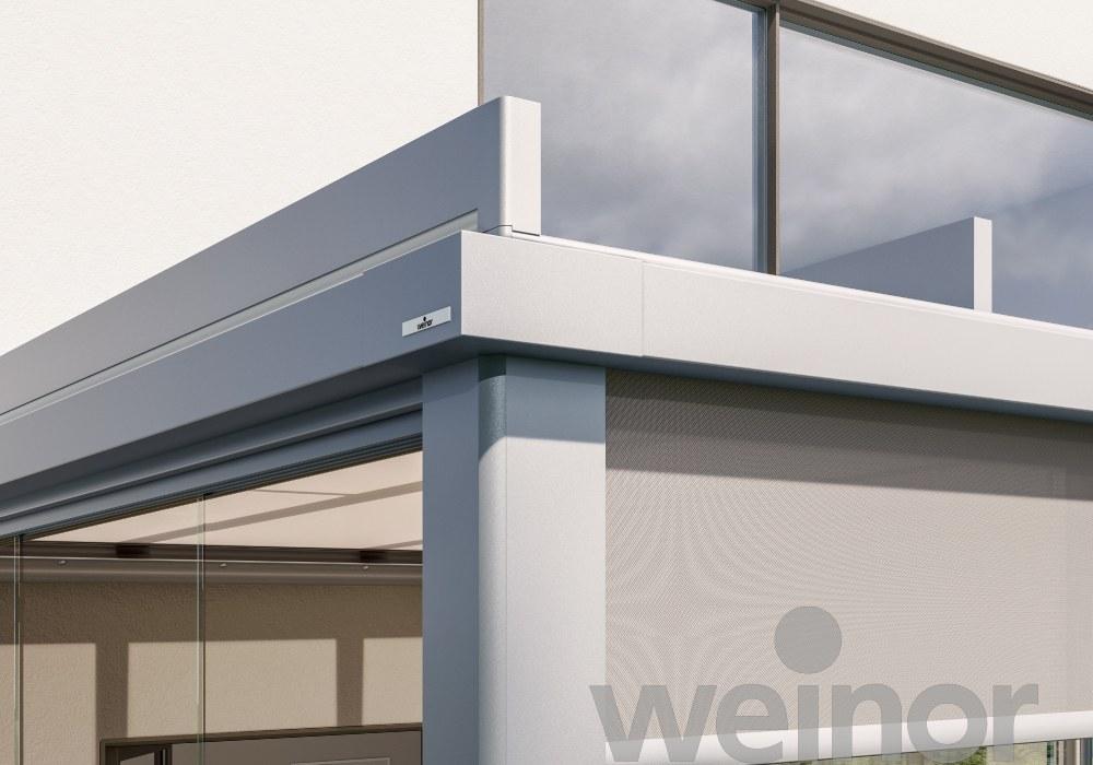 Element de colt pentru parasolare verticale