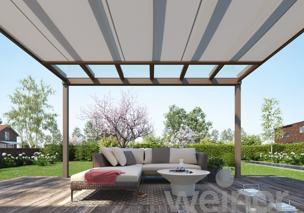 Parasolar de acoperis pentru terase