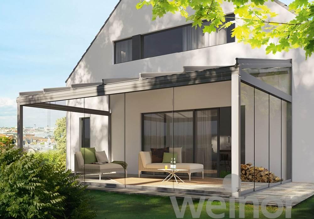 Sistem integrat pentru terase acoperite
