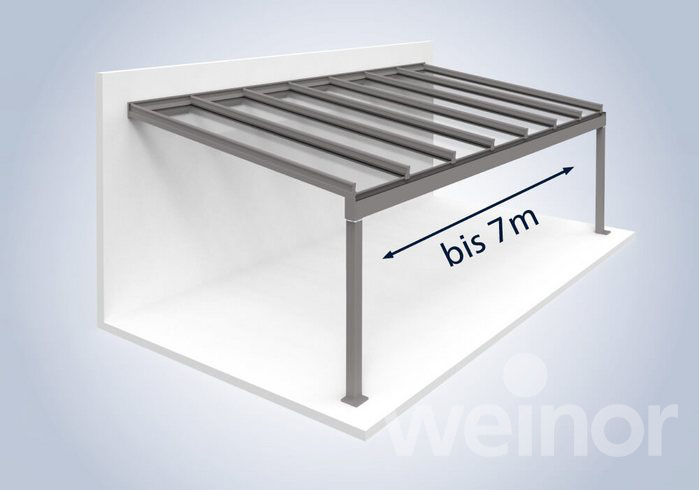 Deschidere mare structura de aluminiu
